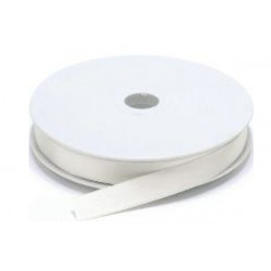 Nastro Doppio Raso Bianco 10mmx50mt