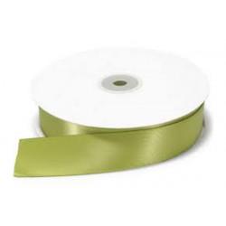 Nastro Doppio Raso Verde Medio 10mmx50mt