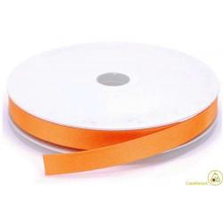 Nastro Doppio Raso Arancione 10mmx50mt