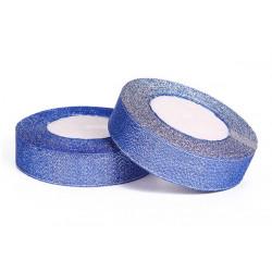 Nastro Blu Glitterato 10mmx23mt