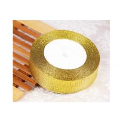 Nastro Oro Glitterato 10mmx23mt