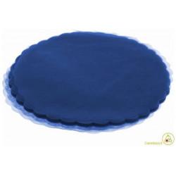 Velo Tulle Orlato Blue Royale 50pz