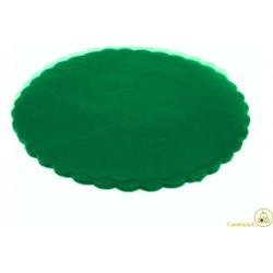 Velo Tulle Orlato Verde Smerlado 50pz