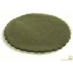Velo Tulle Orlato Verde Oliva 50pz
