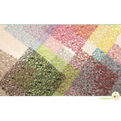 Veli Polycotton Colori Misti Quadrati cm 24 pz 20
