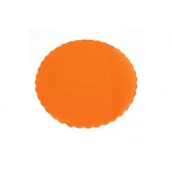 Velo Tulle Orlato Arancio 50pz