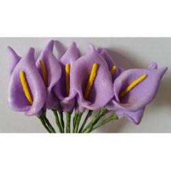 Fiore di Calle cm 2 pz 12 lilla