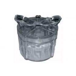 Scatola Regalo Tonda con fiocco Trasparente in plexiglas 6cm