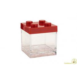 Portaconfetti mattoncino Lego Rosso 5x5x5cm