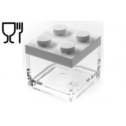 Portaconfetti mattoncino Lego Bianco 5x5x4