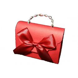 Portaconfetti Segnaposto borsetta laurea Rosso