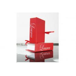 Libro Laurea Bomboniera Portaconfetti Segnaposto con nastrino