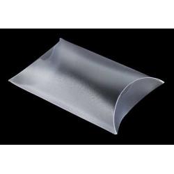 Bustina portaconfetti traslucido Bianco in PVC 5x5x2cm 4pz