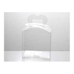 Scatola trasparente in PVC 19x11x11cm 12pz