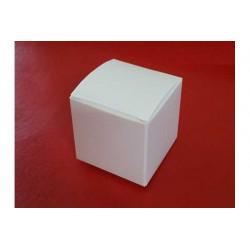 Scatolina portaconfetti in cartoncino cubo 5x5x5cm 12pz