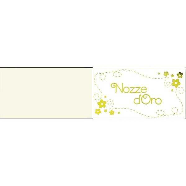 Bigliettini Per Bomboniere 50 Anni Matrimonio Da Stampare