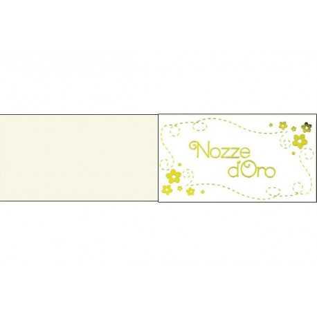 5 Bigliettini Per Bomboniere Stampabili Anniversario Nozze D Oro