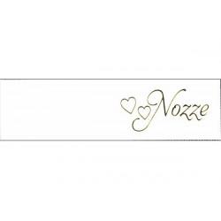 5 bigliettini per bomboniere stampabili Nozze Matrimonio Tema Nozze Cuori