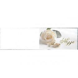 5 bigliettini per bomboniere stampabili Nozze Matrimonio Tema Rose