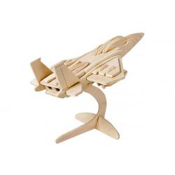 Puzzle 3D in legno tema Aeroplano F15