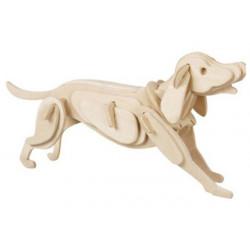 Puzzle 3D in legno tema Cane