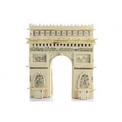 Puzzle 3D grande in legno tema Arco di trionfo