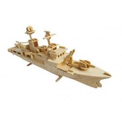 Puzzle 3D grande in legno tema Incrociatore