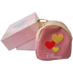Astuccio e Zainetto Rosa con Cuori Disney