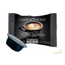 100 capsule Caffè Borbone Don Carlo miscela Nera compatibili Lavazza A Modo Mio
