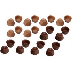 24 Cialde Scodelline Cioccolato al Latte e Fondente