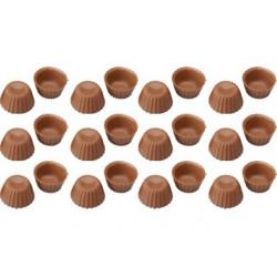 24 Cialde Scodelline Cioccolato Finissimo al Latte