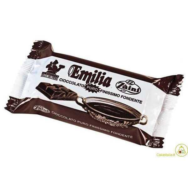Blocchetto Cioccolato Zaini Emilia Fondente g 200