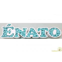 Vassoio Portaconfetti È Nato 70x12x6cm