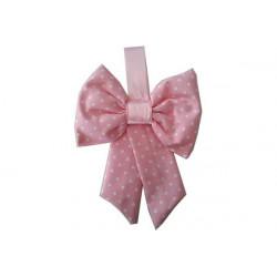 Coccarda Nascita Forma Fiocco Colore Rosa