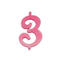 Candela Maxi cm 15 Rosa n° 3