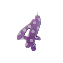 Candela Pois Lilla Maxi cm 12 n° 4