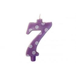 Candela Pois Lilla Maxi cm 12 n° 7