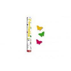 Tubo spara farfalle colorate cm 30