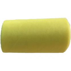 Rotolo tulle giallo 15cmx50m