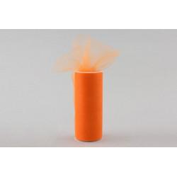 Rotolo tulle Arancione 25cmx100m