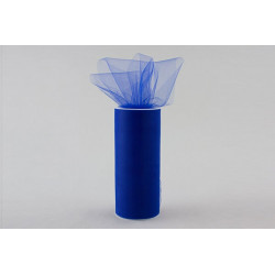 Rotolo tulle Blu Royal 25cmx100m