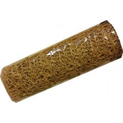 Rotolo polycotton oro glitterato 48cmx450cm