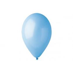 100 palloncini Celesti diametro 19cm