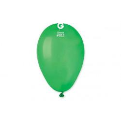 100 palloncini verdi diametro 19cm