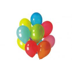 100 palloncini multi colore diametro 19cm