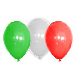 6 palloncini Tricolore diametro 30cm