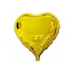 Palloncino a forma di Cuore Oro 45cm