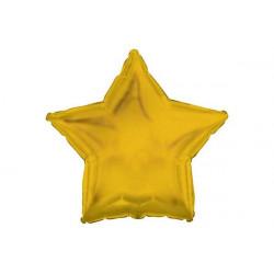 Palloncino a forma di Stella Oro 45cm