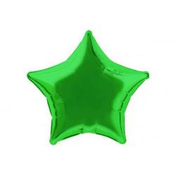 Palloncino a forma di Stella Verde 45cm