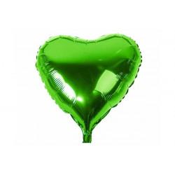 Palloncino a forma di Cuore Verde 45cm
